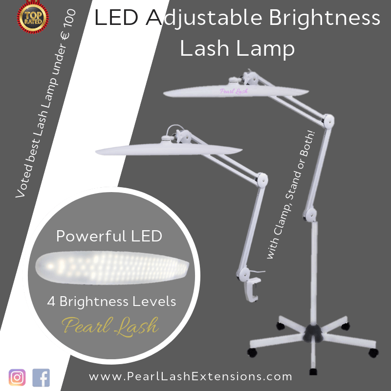 Lash Light LED Adjustable & Dimmable For Eyelash Extensions