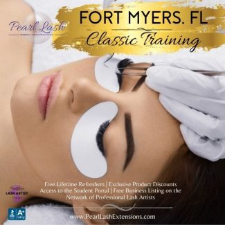 Fort Myers Classic Eyelash Extension Training by Pearl Lash