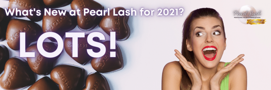What's New at Pearl Lash for 2021